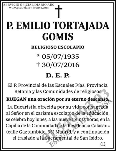 Emilio Tortajada Gomis